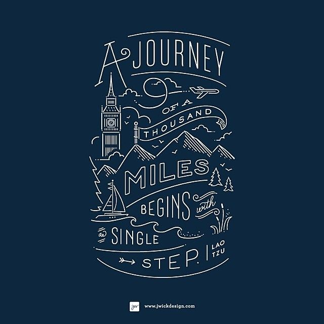 The Daily Type — Lets take a single step! Great work by...