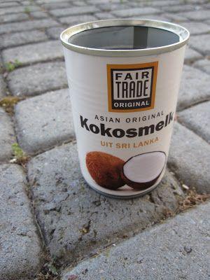 Kleine Zaken: Kokos slagroom / Coconut whipped cream