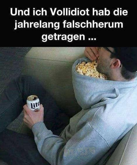 Magst Du auch Poppkorn, im Kino?Hahaha – Hulmer