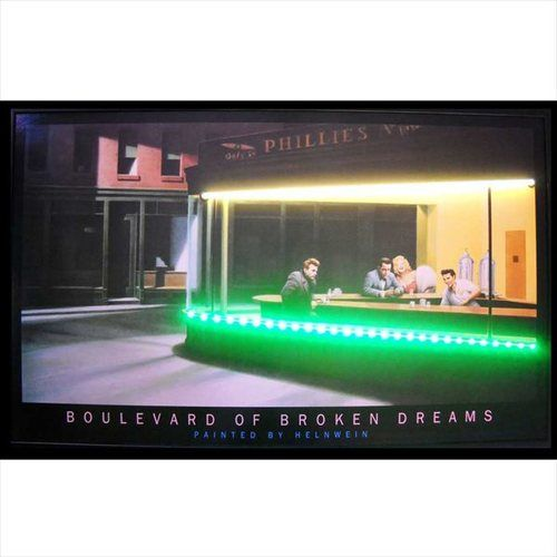 Boulevard Of Broken Dreams Lighted NEON-LED Picture