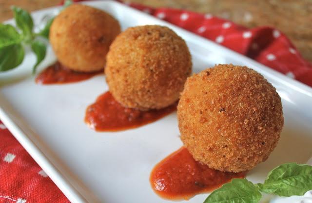 Arancini di Riso: Sicilian Rice Balls
