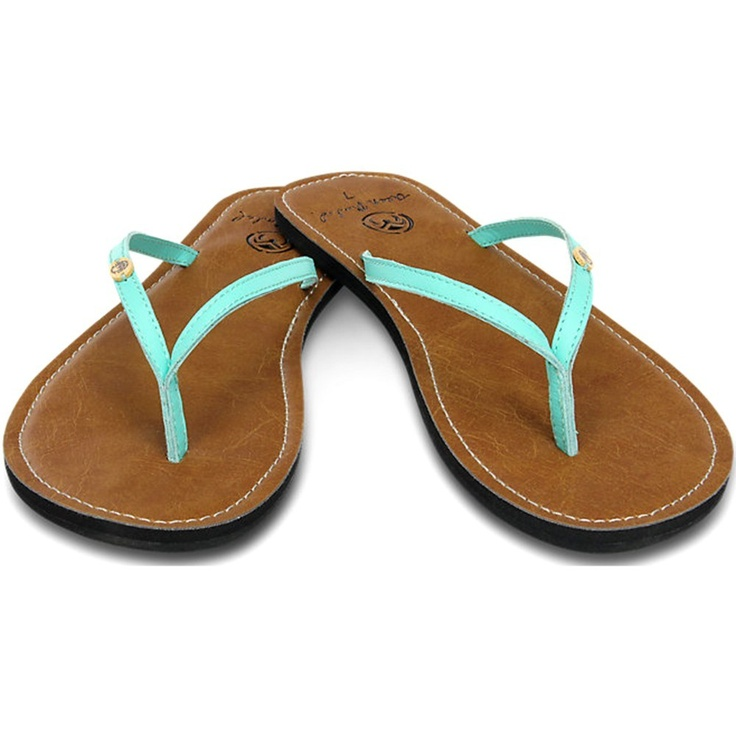 New Ocean Minded Oumi sandal color-way just in time for Spring in the  season's hottest color: Sea Foam Green!