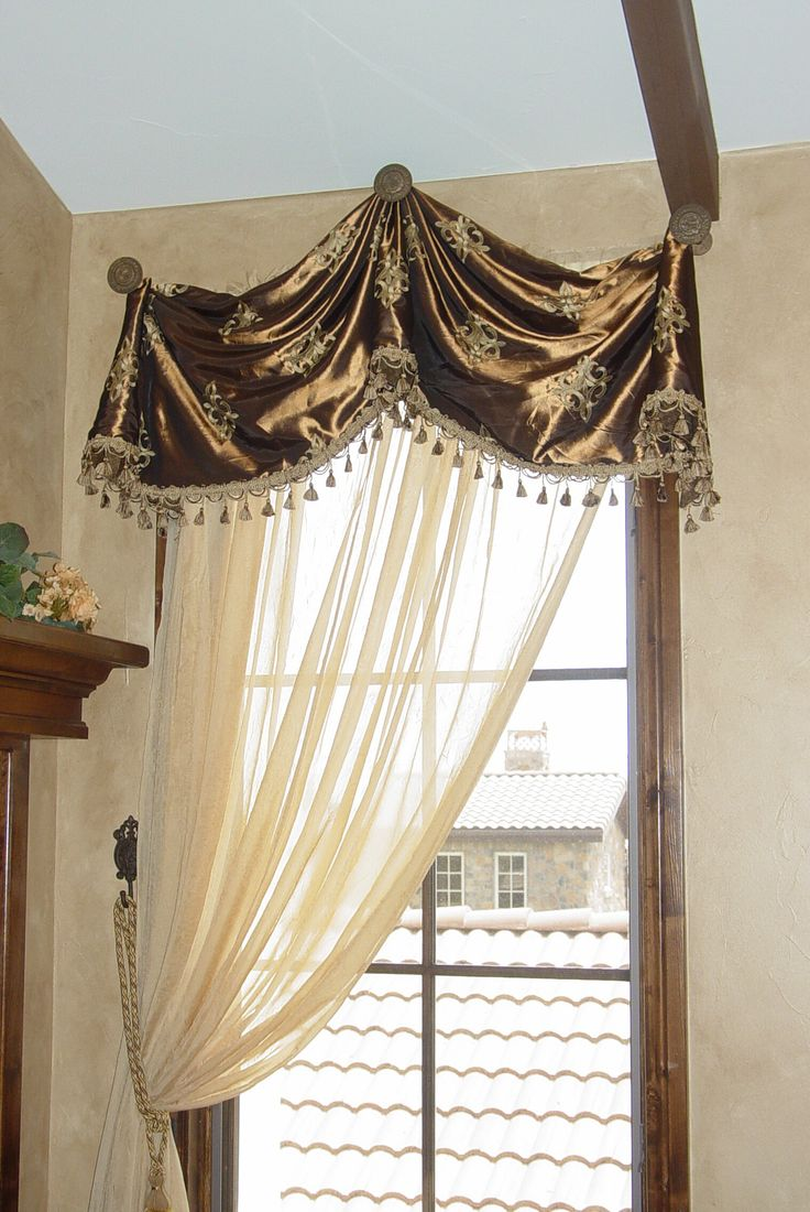 121 best Valances with decorative hardware images on ...