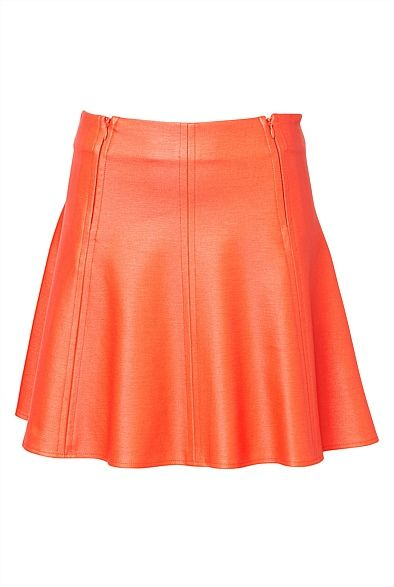 A-line Mini Slightly different, but very fashionable skirt to the other skirts I like that are trending (the asymmetrical ones). I feel as if this could be a more everyday wear skirt as it's slightly more casual being the tennis-like (and almost sporty) cut. #witcherywishlist