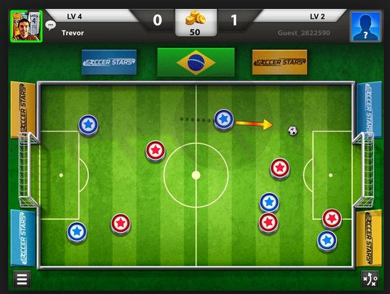 Link:http://www.oyunzamani.org/miniclip-soccer-stars-mobile.html Miniclip Soccer Stars Mobile A free iPhone Games Game. A short time after this game will play in Game Time site. You can play online by logging in to Facebook profiles.