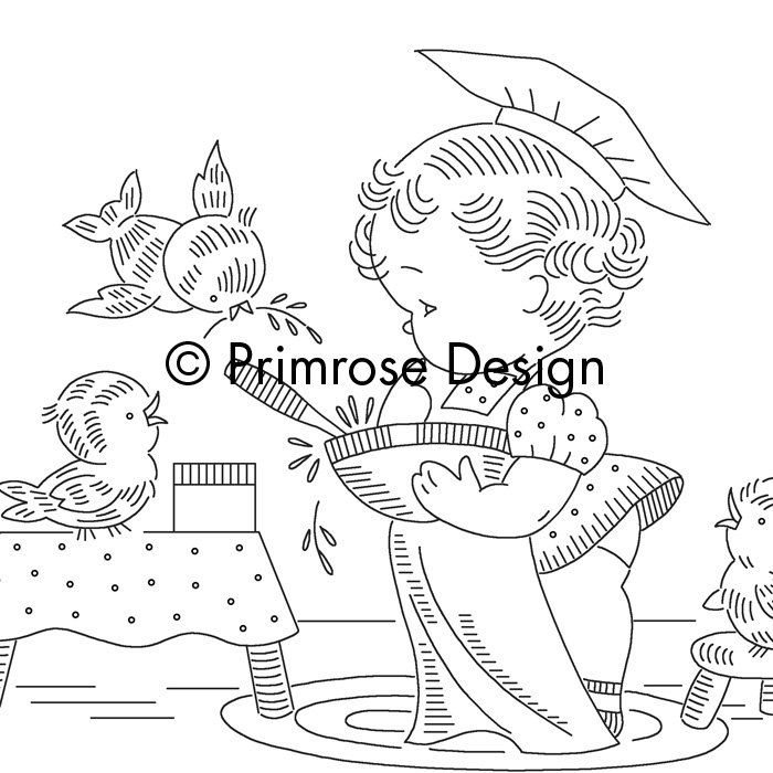 Vintage Embroidery Patterns | Like this item?