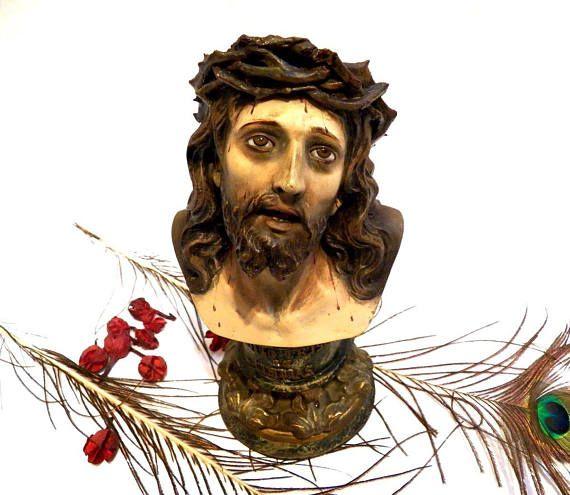 Sculpture Jesus Christ Christmas Sculpture Ancient Jesus