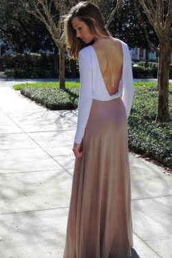 Sandie Backless dress