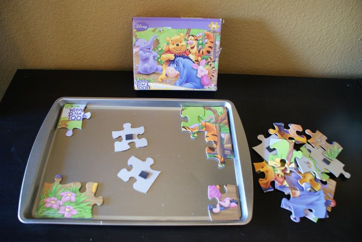 magnetic puzzle + other road trip games