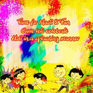 Download Happy Holi 2014 Cards   Holi Greeting cards   Holi ecards!