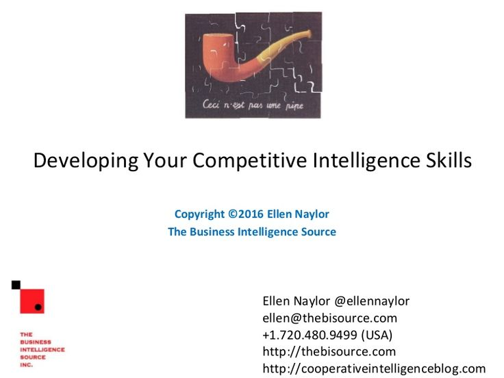 This is an introduction to competitive intelligence, which includes definition, 5 flavors of competitive intelligence, some analytic tools like SWOT, STEEP, BC…
