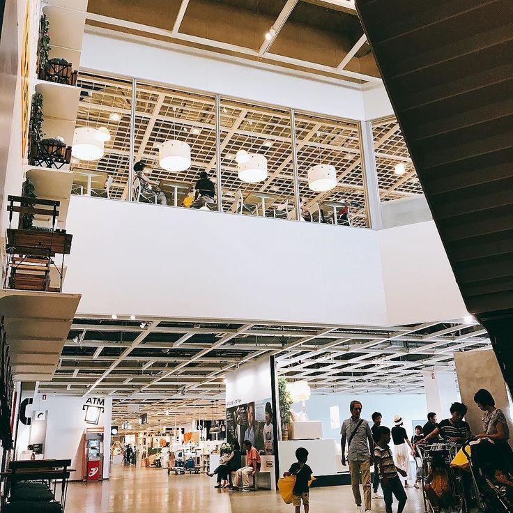 IKEAに来た  #ikea鶴浜 #ikea #大阪 #模様替え #アイデア収集 #shopping #organizer #マンションインテリア #子供は恒例プレイエリアへ #instamood #お買い物 #フライドオニオンは絶対買う #夏休み #車で着やすいのが良い #お出かけ #インテリア #interior #interiordesign #organised #인테리어 #интерьер #interieur #instagood #instadaily #japan #instagramjapan #instalike #japon  #일본