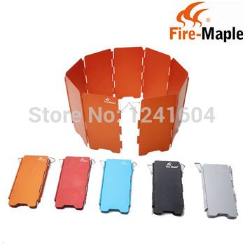 Free Shipping Fire Maple Portable Camping Stove WindScreen Foldable 9-Plates Wind Baffle 110g FMW-503 #Affiliate