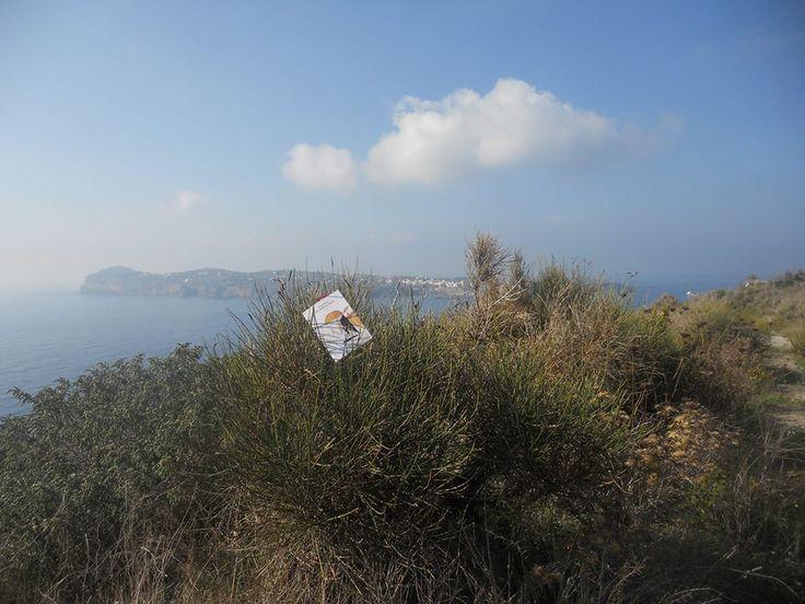 """""""Nel nome di Marco"""" in Santo Stefano island, in front of Ventotene island, Mediterraneo sea, Italy"""