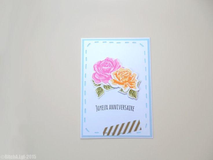 """Carte d'Anniversaire """"Joyeux Anniversaire"""" 01 : Cartes par theminimalisticshop"""