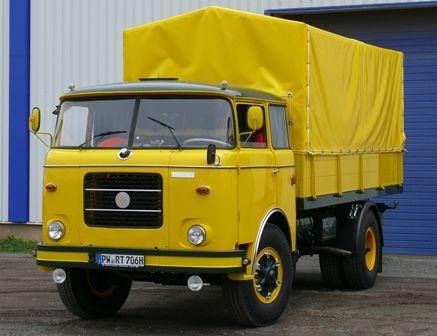 Škoda 706 RT   Staré náklaďáky - Yellow Car