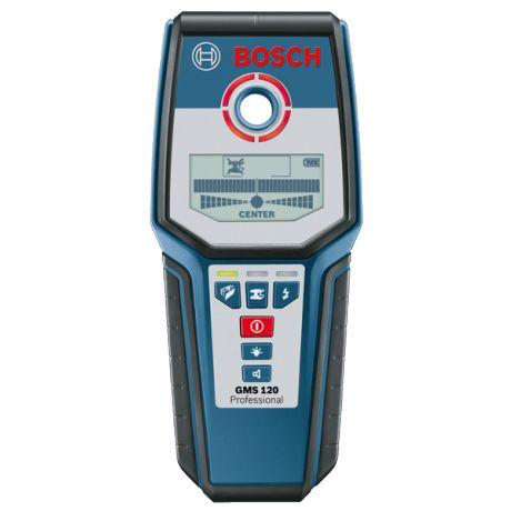 Bosch GMS 120 Ortungsgerät Multidetektor Metalldetektor Leitungssucher 0601081000