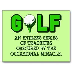 golfing humor quotes - Google Search