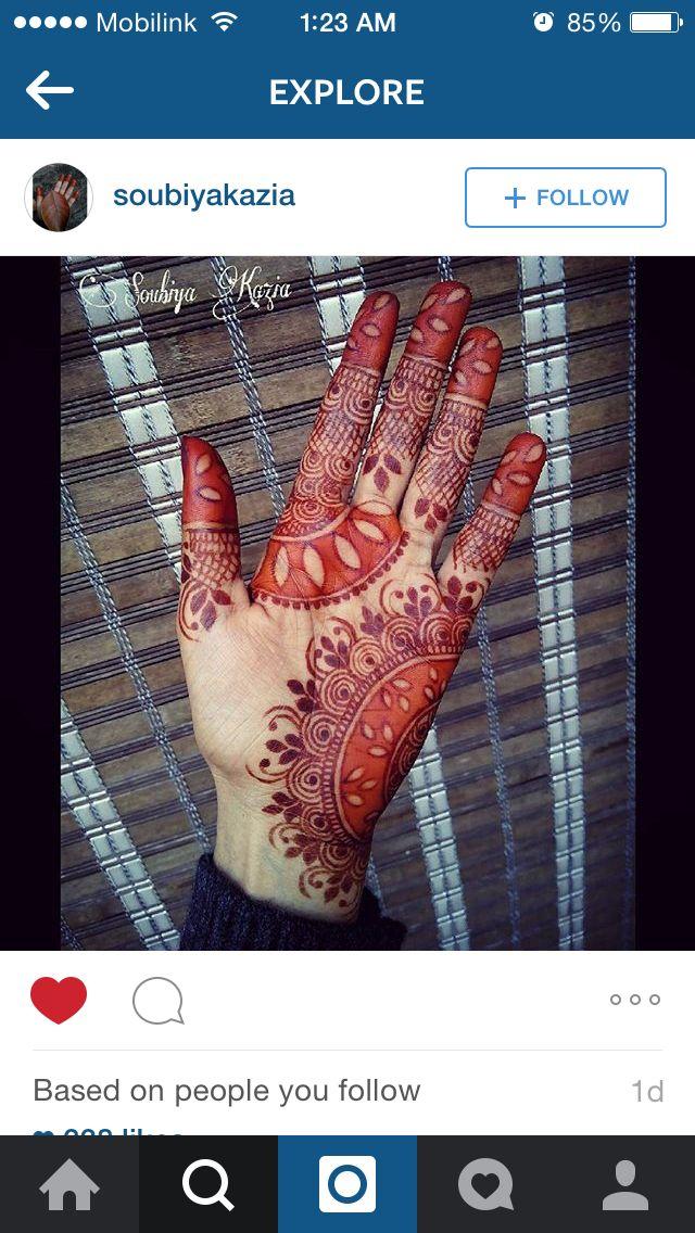 Unique color pattern for #mehendi #heena