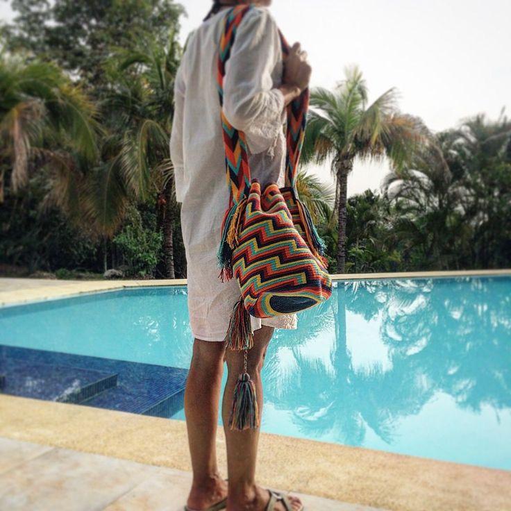 www.wayaarte.com  Beautiful handmade bags made with all the love by indigenous women in Colombia with exclusives designs by WAYAA :)  #handmadelovers #onepiece #bohobag #hobobag #boho #bohostyle #hobo  #wayuu #wayu