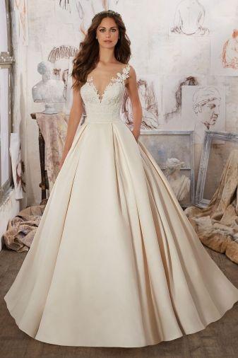 47 best Bliss Gowns: Mori Lee images on Pinterest | Hochzeitskleider ...