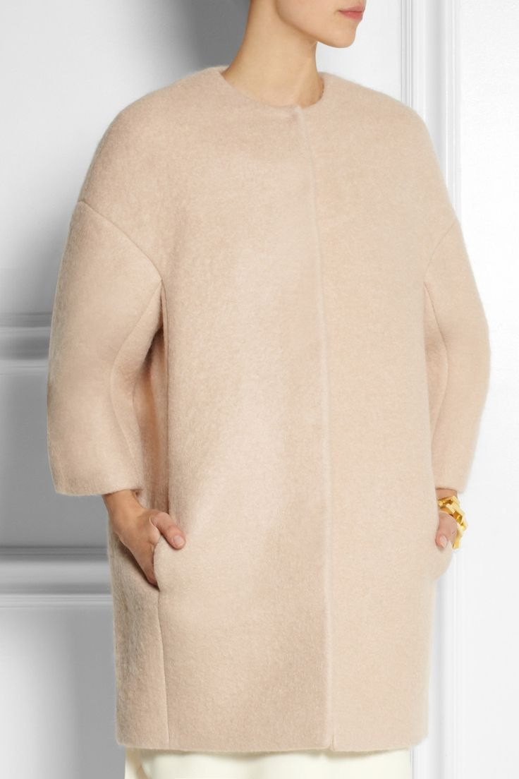 Giambattista Valli | Felted cocoon coat