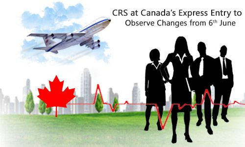 CRS at Canada's #ExpressEntry to Observe Changes from June  https://www.morevisas.com/immigration-news-article/crs-at-canada-s-express-entry-to-observe-changes-from-june/5073/