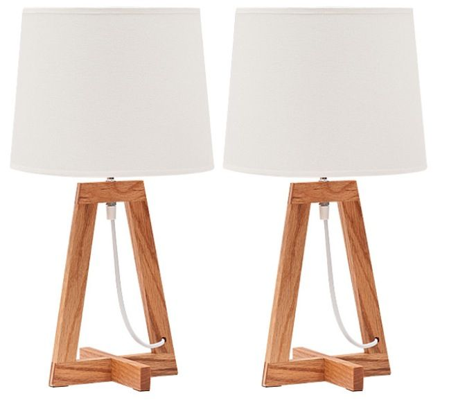 Twin lamps from Target $39
