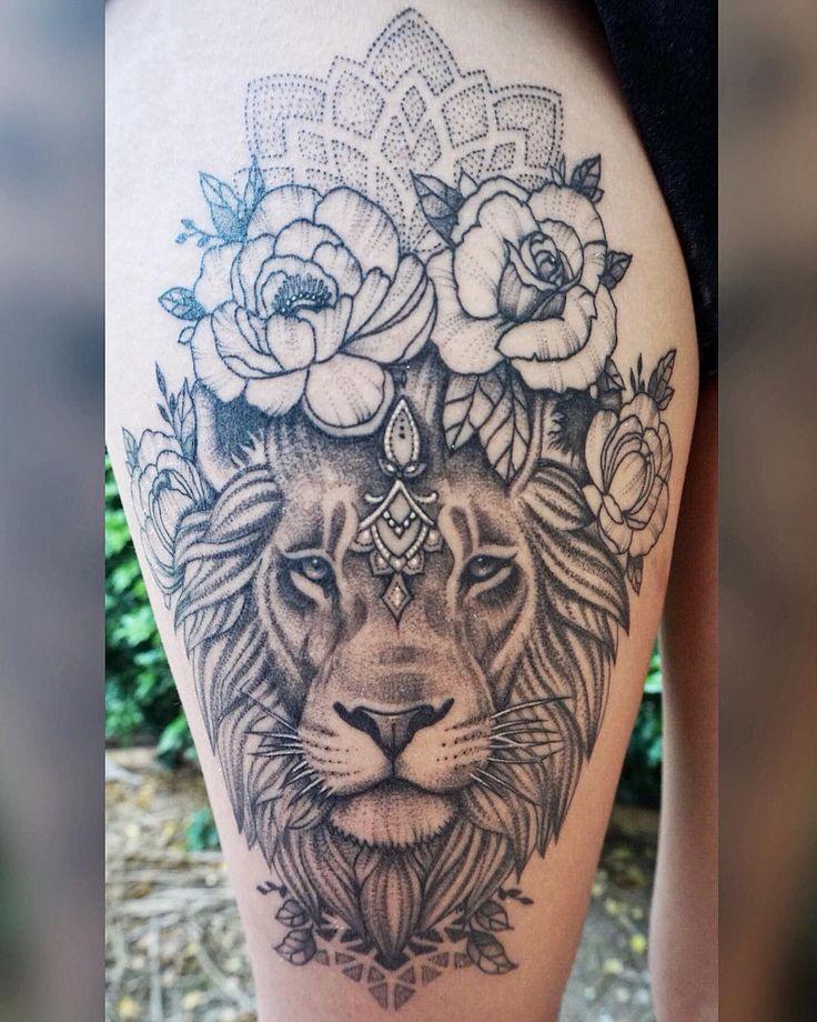 MiL Et Une ~ Kunst & Tattoo (@ mi_li3_art) 3 Wochen geheilt 🖤🌿 Vielen Dank, dass Sie so mu …