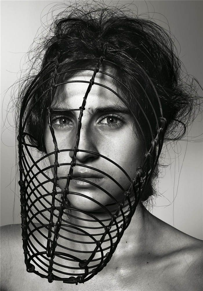 Richard Burbridge Masks Photography