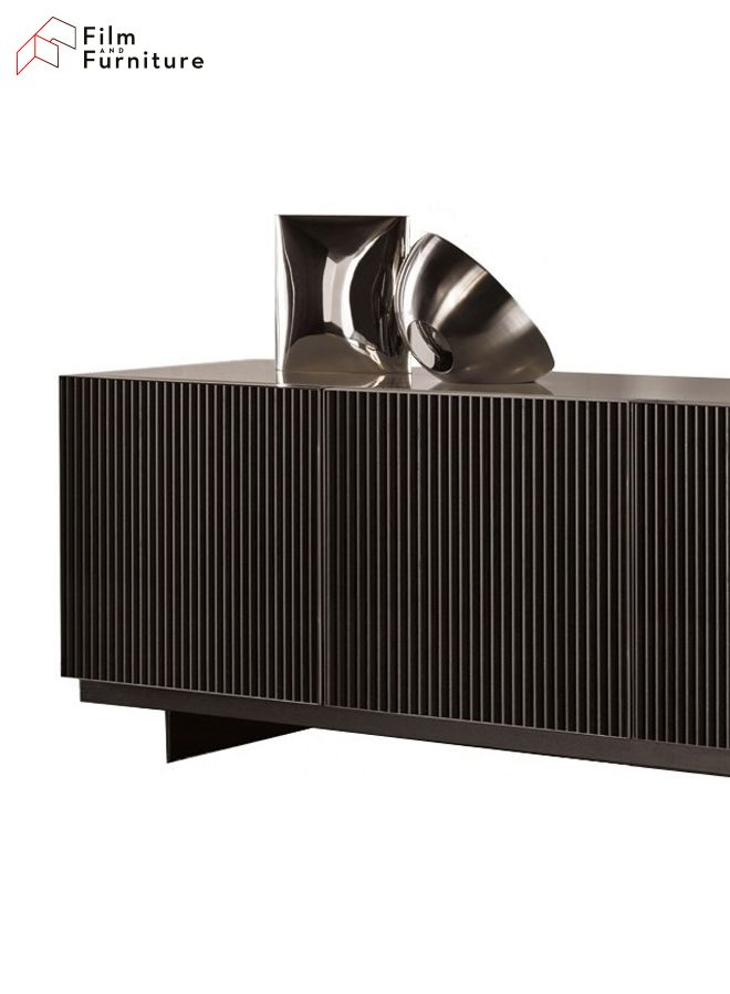 Want a sideboard like Christian Grey? We know just the one– find out more on http://filmandfurniture.com #FiftyShades #FiftyShadesDarker #AnastasiaSteele #ChristianGrey #lighting #interiordesign #designinspiration #homedecor