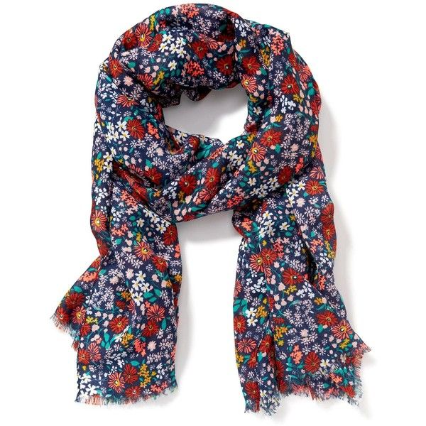Old Navy Printed Linear Scarf ($6) ❤ liked on Polyvore featuring accessories, scarves, old navy, lightweight scarves, old navy scarves and lightweight shawl