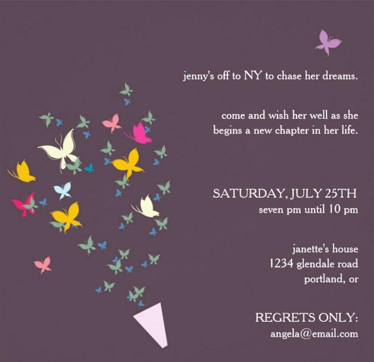 19 best Party Ideas images on Pinterest - farewell invitation template