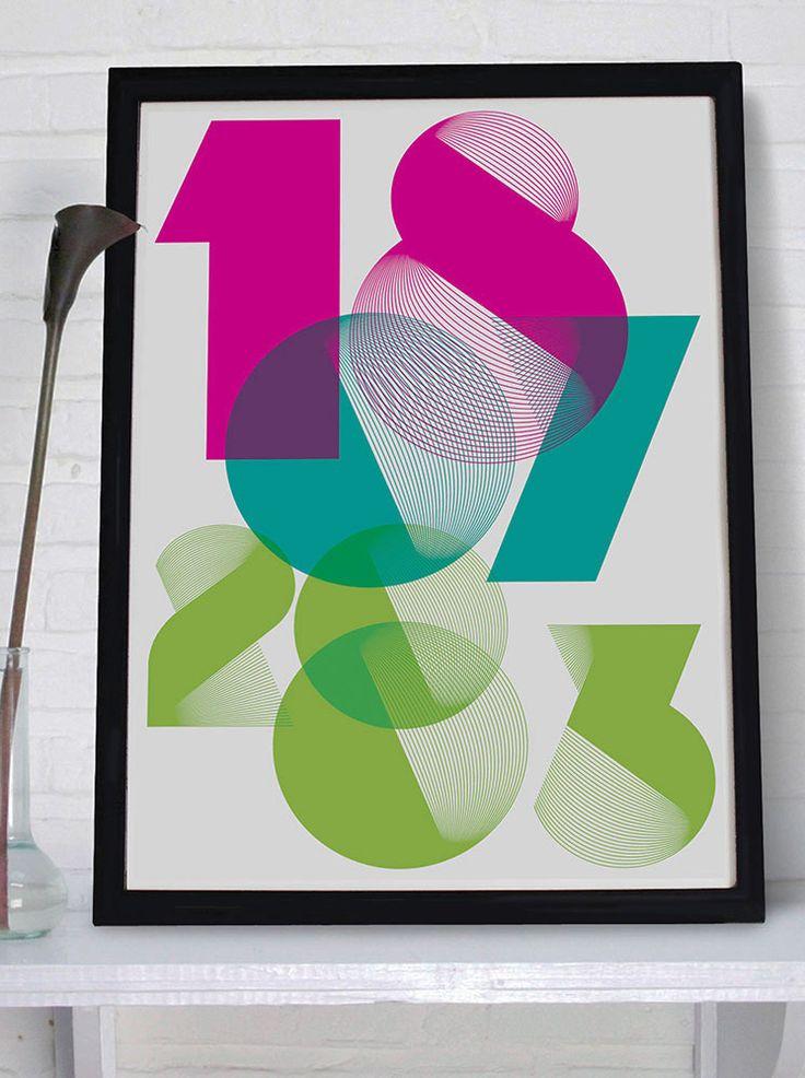 Spiro Classic - Personalised print from MAYKI