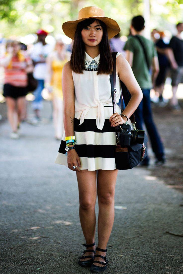 Pitchfork Music Festival 2013 Street Style - Summer Festival Style - Elle