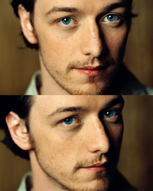 """James Mcavoy.... I should probably just make a board of """"guys who play fictional characters in movies that I love"""""""