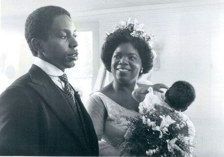 Willard Pugh & Oprah Winfrey (The Color Purple 1985) Steven Spielberg. Photo Warner Bros. &  Amblin Entertainment.
