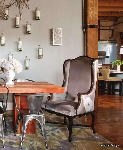 Eclectic Style Dining Room From Maison Cote Sud