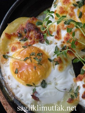 Patatesli, Pastırmalı Yumurta