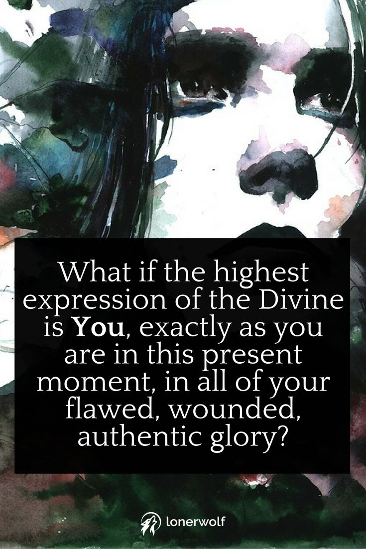 What if the highest expression of the Divine is You? ~ Higher Self quotes ~ Spiritual Awakening Quotes ~