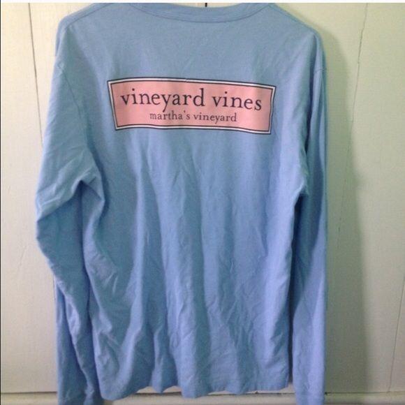 Vineyard Vines Tops - Rare Vineyard Vines Long Sleeve Tee