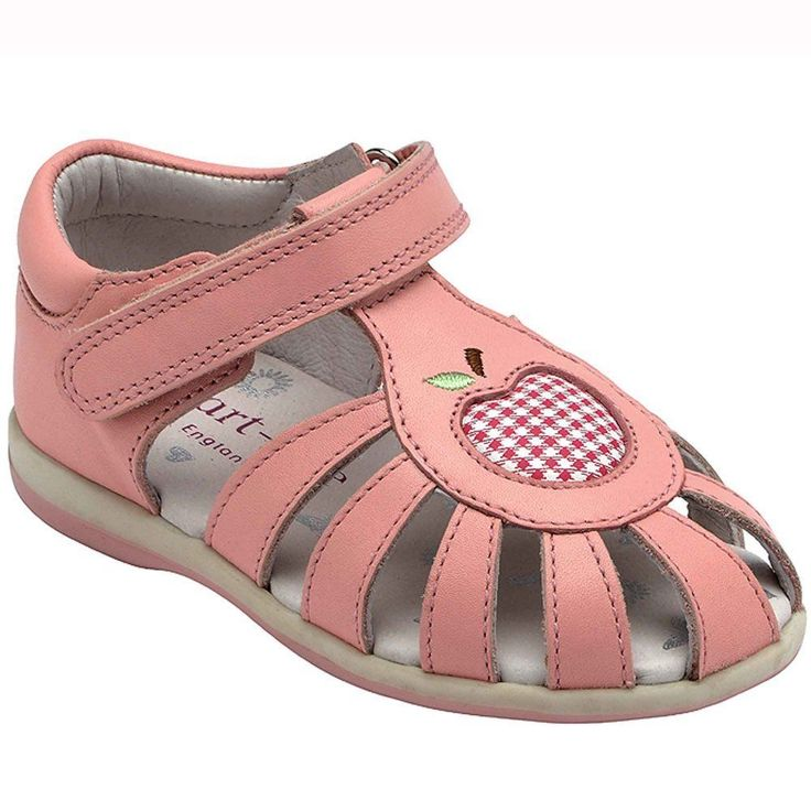 Startrite Leticia Girls First Walking Sandals Leather Closed Toe Pink Size 3 - 9