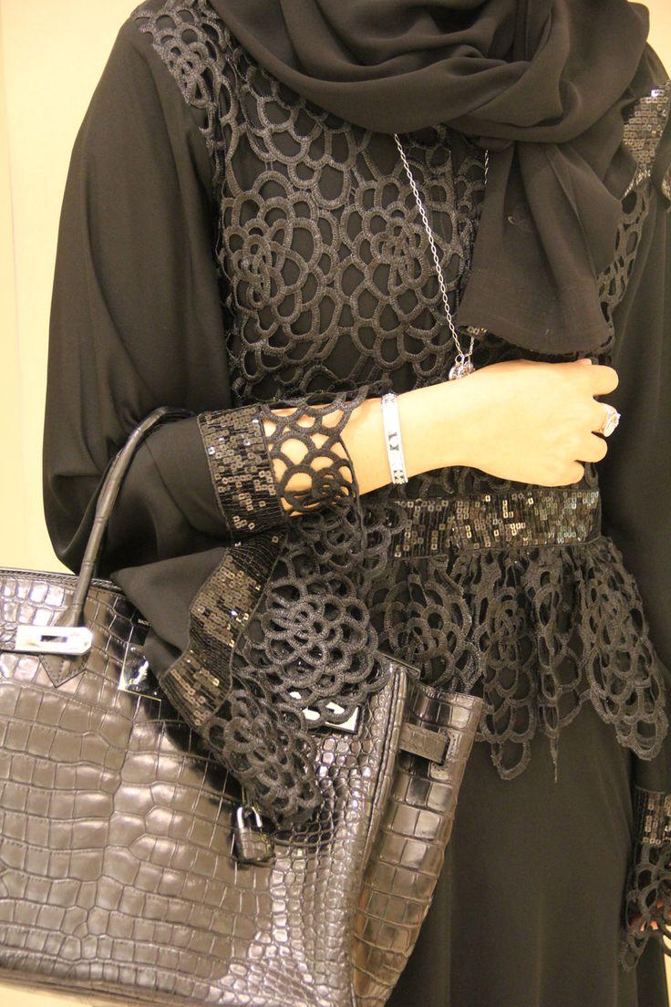 Latifa Al Shamsi: McQueen Abaya