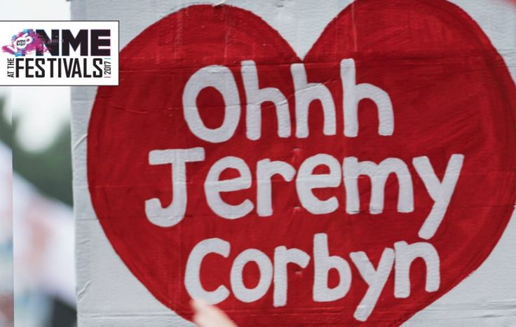 Glastonbury reacts to Jeremy Corbyn's heroic speech. Was this the biggest ever crowd at Glastonbury? Read more at http://www.nme.com/festivals/glastonbury-reacts-jeremy-corbyns-heroic-speech-2093068#XuZ75XGAPYvY2moW.99