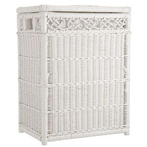 this laundry hamper will look beautiful in my walk in closet white wicker laundry