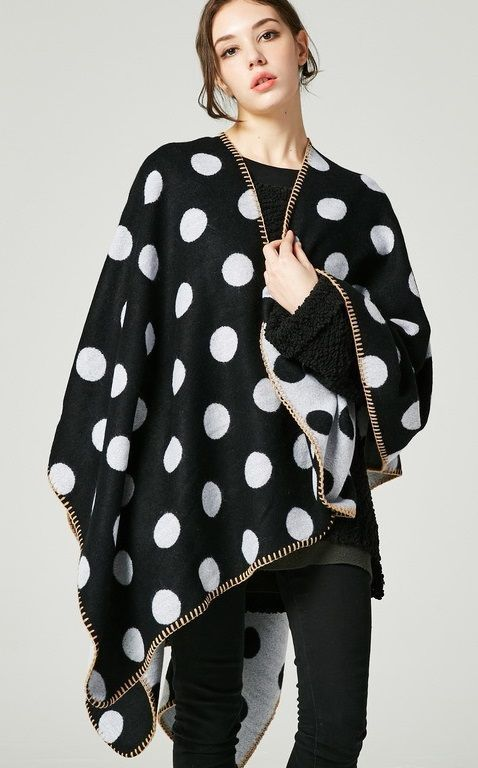 a2703f2775972 We love these warm winter ponchos! #ponchos #winterponchos #ponchooutfit  #cuter #outfit