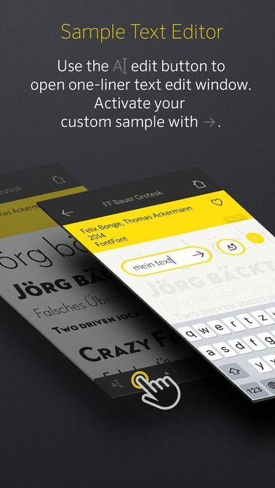 Desde 1989, el personal editorial de Font Book ™ ha sido la autoridad definitiva en la documentación y comparación de tipos de letra comerciales. #ios #app #typography