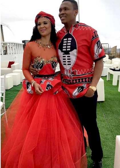 Wedding Photos of Kagisho Dikgacoi and Carina McKechnie secret traditional wedding in Swaziland