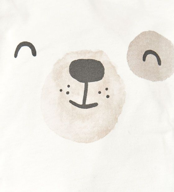 cute bear, illustration, kids, character, face, design, texture, drawing