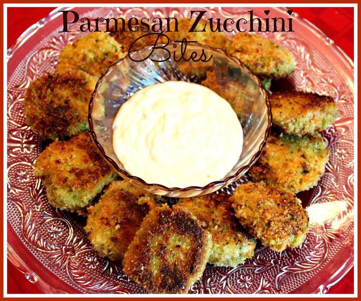 Sweet Tea and Cornbread: Shari's Parmesan Zucchini Bites!